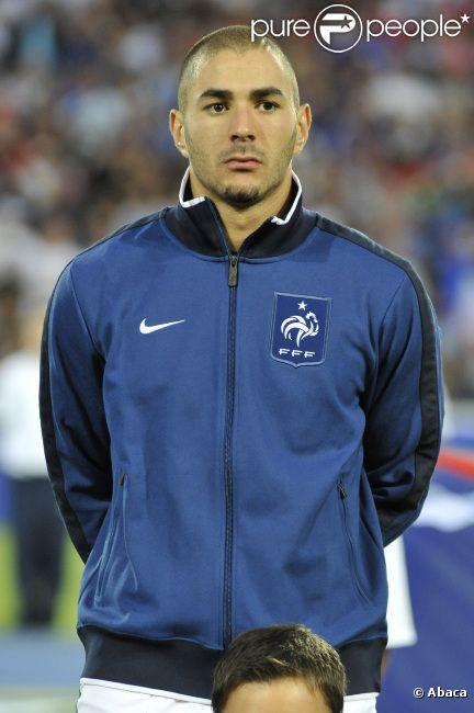 Karim Benzema le 10 août 2011 à Montpellier