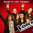 Les coachs de  The Voice  version française (TF1)