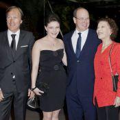 Le prince Albert et sa cousine en gala à Monte-Carlo avec un Nadal très disco