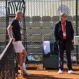 Ilie Nastase, à la cool, jouait le rôle d'arbitre. Le prince Albert II de Monaco disputait le 21 avril 2012 un double exhibition avec Arnaud Boetsch, Guy Forget et PPDA, dans le cadre du Rolex Masters 1000 de Monte-Carlo.