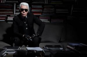 L'imprévisible Karl Lagerfeld, 'A Contretemps' dans un reportage exclusif