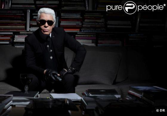 Karl Lagerfeld à Contretemps, un documentaire inédit diffusée samedi 28 avril à 23h45 sur France 3.