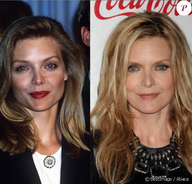 Michelle Pfeiffer avait 31 ans en 1989. En 2012, la comédienne de 53 ans est restée sublime.