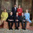 Les fiançailles du grand-duc héritier Guillaume de Luxembourg et de la comtesse Stéphanie de Lannoy ont été célébrées le 27 avril 2012, au lendemain de leur annonce : après la présentation officielle de la comtesse au palais grand-ducal (11h30), un déjeuner a eu lieu en présence des deux familles suivi d'une séance photo (15h30) dans le parc du château de Colmar-Berg, résidence de la famille grand-ducale.