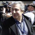 Christian Clavier le 1er mai 2012 lors du meeting de Nicolas Sarkozy au Trocadéro à Paris