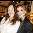 Clotilde Courau et Karole Rocher à la soirée Burberry Eyewear, le 3 mai 2012 à Paris