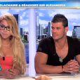Béa et Florent dans  Les Anges de la télé-réalité 4 - Le Mag , le 4 mai 2012 sur NRJ12
