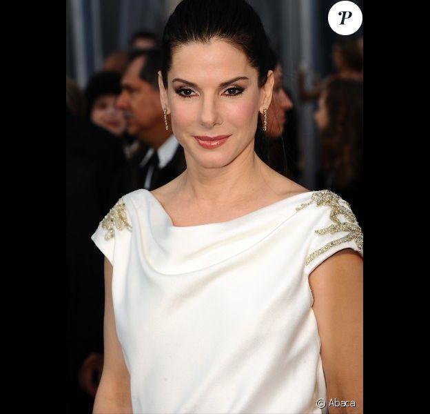 Sandra Bullock, en février 2012 aux Oscars.