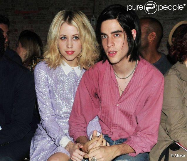 Peaches Geldof et son fiancé Thomas Cohen en septembre 2011