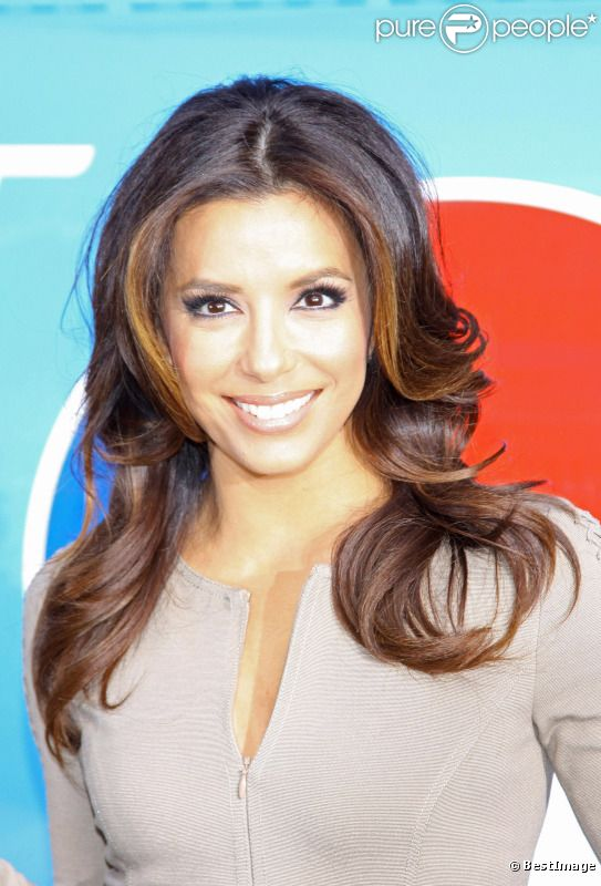 Eva Longoria à New York en avril 2012.