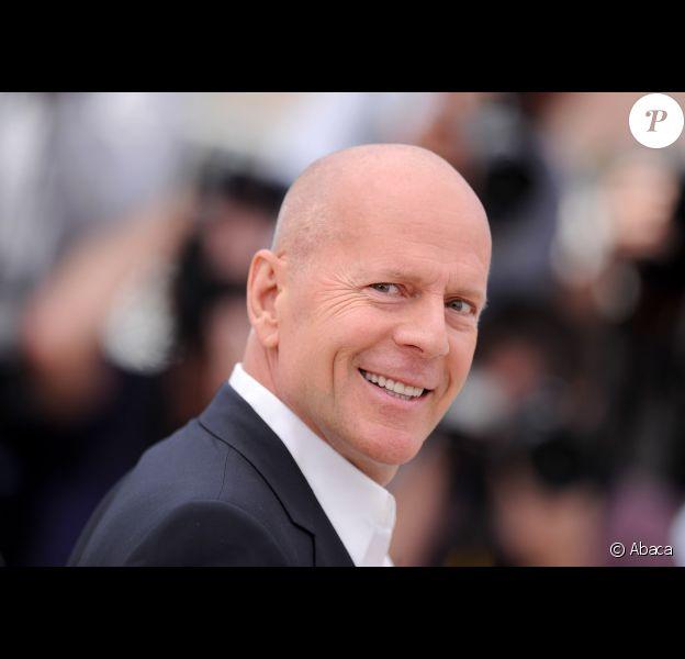 Bruce Willis lors du photocall du film Moonrise Kingdom le 16 mai 2012 au festival de Cannes