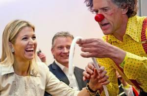 Princesse Maxima : Une bonne crise de rire avec les CliniClowns
