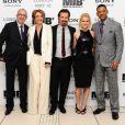 Barry Sonnenfeld, Emma Thompson, Josh Brolin, Alice Eve et Will Smith à l'avant-première du film  Men in Black III , à Londres le 16 mai 2012.