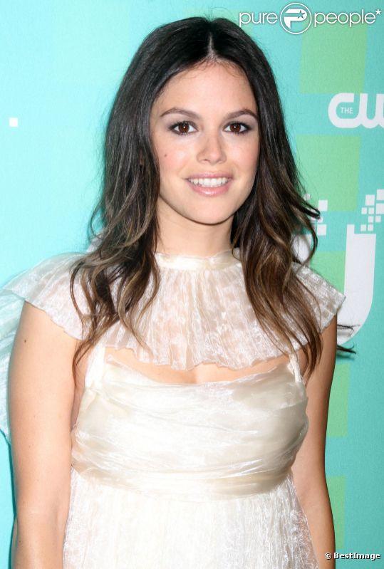 Rachel Bilson à la conférence de presse de la chaîne CW, à New York, le jeudi 17 mai 2012.