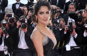 Cannes 2012 : Salma Hayek, très sexy au bras de son amoureux