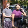 Mark Zuckerberg et sa compagne Priscilla Chan à Palo Alto en octobre 2010