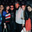 Philippe Manoeuvre bien entouré au Magic Garden meets le Baron à Cannes le 19 mai 2012