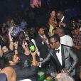 P. Diddy et sa chérie Cassie lors du concert de Rick Ross au Gotha Club à Cannes le 21 mai 2012