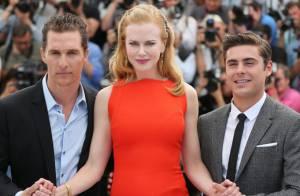 Cannes 2012 : Le dîner de Nicole Kidman, Matthew McConaughey et Zac Efron