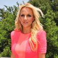 Britney Spears, membre du jury de X Factor, arrive sur les auditions de X Factor, au Texas, le jeudi 24 mai 2012.