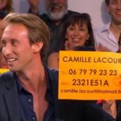 Camille Lacourt : Son numéro de portable donné en direct par Fabien Gilot