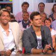 Fabien Gilot a donné le numéro de portable de Camille Lacourt sur le plateau du Grand Journal sur Canal + le 24 mai 2012 avec Florent Manaudou