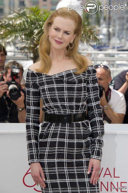 Nicole Kidman lors du photocall de  Hewingway & Gellhorn , au Festival de Cannes le 25 mai 2012.