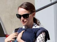 Natalie Portman, tellement fière, assiste aux premiers pas de son fils Aleph