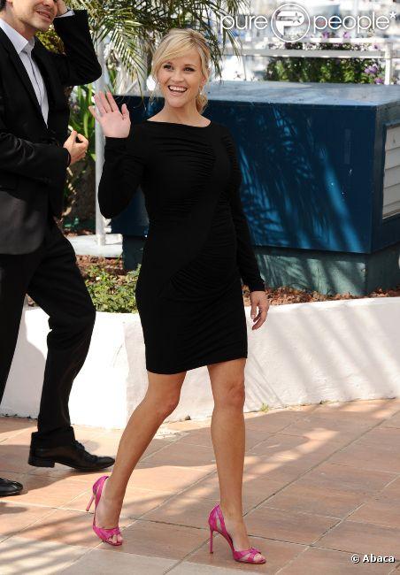 Reese Witherspoon lors du photocall du film Mud au Festival de Cannes le 26 mai 2012
