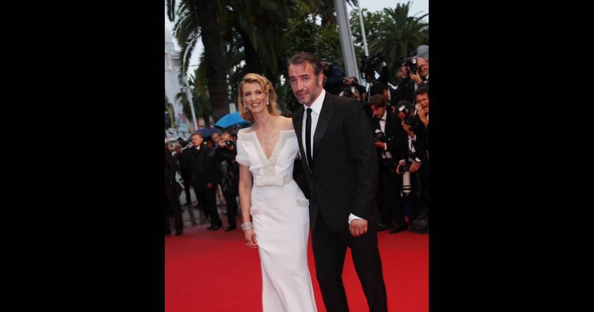 Le couple alexandra lamy en zuhair murad et jean dujardin for Jean dujardin en couple