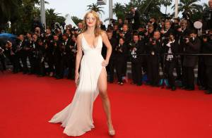 Cannes 2012 : Virginie Efira ultrasexy face à Kylie Minogue, plus classique