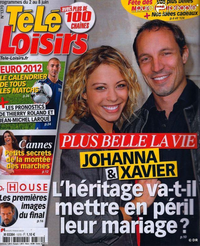 Télé Loisirs en kiosques le 28 mai 2012