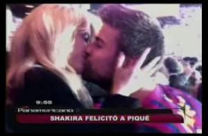 Shakira: Le baiser fougueux de la star pour féliciter son compagnon Gerard Piqué