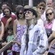 Image extraite de l'hommage vidéo de Barry Gibb à son frère Robin Gibb, mort le 20 mai 2012 à 62 ans.