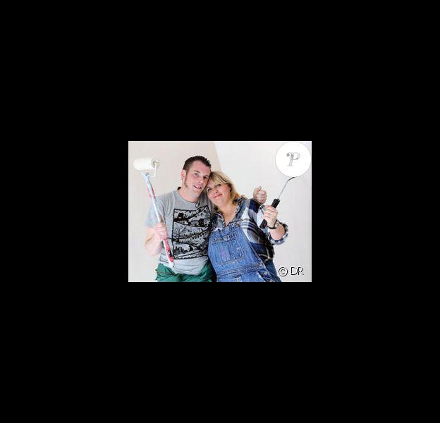 Norbert et Valérie Damidot vont maroufler ensemble dans D&Co jardin, le 17 juin 2012