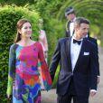La princesse Mary de Danemark lors du dîner pour les 40 ans de la WWF Danemark le 30 mai 2012 à l'orangerie du palais de Fredensborg.