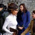 Monica Cruz sur le tournage de la nouvelle campagne Agent Provocateur, à Londres, le 16 mai 2012.