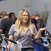 Hilary Duff : Pas facile de brûler les calories après la naissance du petit Luca