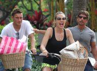 Francesco Totti et sa belle Ilary: Vacances en amoureux à vélo et sous le soleil