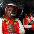 Florent Malouda se laisse conduire par Sébastien Loeb dans une petite initiation très particulière