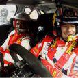 Florent Malouda a eu le droit à une petite séance de conduite très particulère au côté de Sébastien Loeb avant de s'envoler pour l'Euro