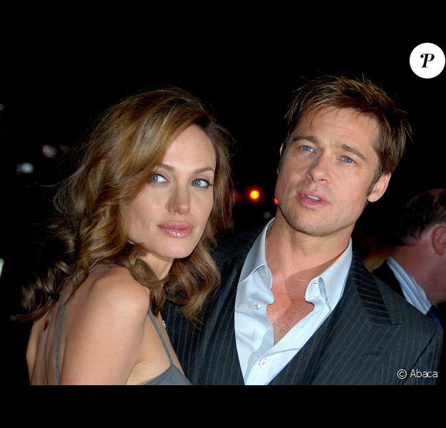 Angelina Jolie et Brad Pitt à Toronto en avril 2012