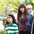 Paris Jackson et son petit frère à Los Angeles, le 18 mai 2012.