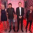Les quatre nominés dans le sas lors du troisième prime time de Secret Story 6, vendredi 8 juin 2012
