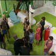 Nadège et Thomas rentrent dans la maison dans Secret Story 6, vendredi 8 juin 2012 sur TF1