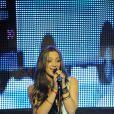Léa Castel lors du concert pour Les Petits Anges de la Vie, au VIP ROOM de Jean-Roch, à Paris le 10 juin 2012