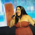 Amalya lors du concert pour Les Petits Anges de la Vie, au VIP ROOM de Jean-Roch, à Paris le 10 juin 2012