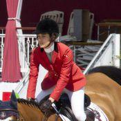 Charlotte Casiraghi : Glamour au naturel, et même en plein jumping