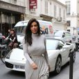 Kim Kardashian et Kanye West vont faire du shopping à Paris le 19 juin 2012