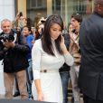 Kim Kardashian et son chéri Kanye West vont faire du shopping chez Colette, à Paris le 19 juin 2012